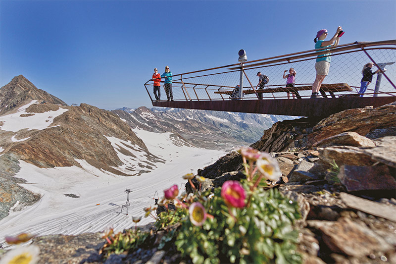 Gipfelplattform Top of Tyrol