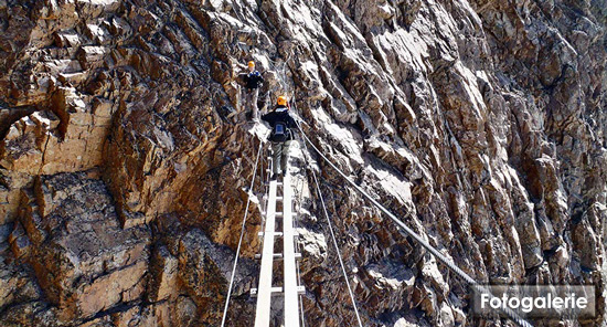 Klettersteig Piz Trovat : Die schönste mutprobe in engadin der klettersteig piz trovat auf